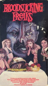 Bloodsucking Freaks VHS Front 300dpi