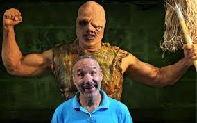 Lloyd Kaufman and Toxie